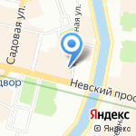 МариаРоса на карте Санкт-Петербурга