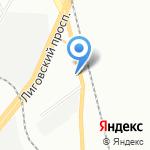 РЕСТОРИКА на карте Санкт-Петербурга