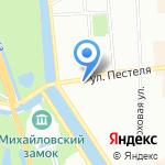 ПИККОМ на карте Санкт-Петербурга