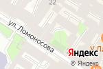 Схема проезда до компании Ассоциация международных автомобильных перевозчиков в Санкт-Петербурге