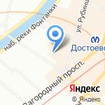 Lomonosova22 на карте Санкт-Петербурга
