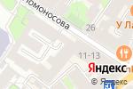 Схема проезда до компании Epsilon в Санкт-Петербурге