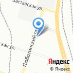 РВД-Сервис на карте Санкт-Петербурга
