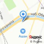 Tourout на карте Санкт-Петербурга