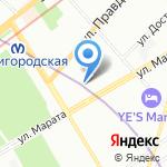 BRONDI STUDIO на карте Санкт-Петербурга