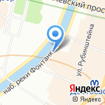 Design`Rium на карте Санкт-Петербурга