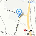 Тилион на карте Санкт-Петербурга