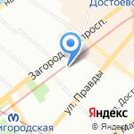Subbox Records на карте Санкт-Петербурга