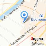 Ассистентъ на карте Санкт-Петербурга
