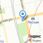 Рест на карте Санкт-Петербурга