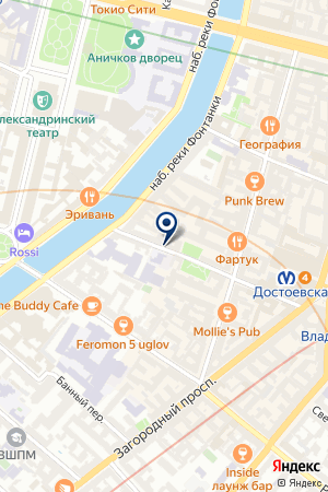 АУДИТОРСКАЯ КОМПАНИЯ РОСЭКСПЕРТ-АУДИТ на карте Санкт-Петербурга