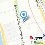 Городская поликлиника №14 на карте Санкт-Петербурга