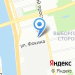 Торговая компания на карте Санкт-Петербурга