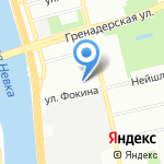 Кафель-Трейд на карте Санкт-Петербурга