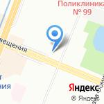 Восточный дракон на карте Санкт-Петербурга