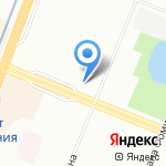 Победа на карте Санкт-Петербурга