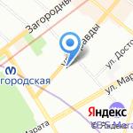 Канцелярская Крыса на карте Санкт-Петербурга