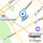 Барские бани на карте Санкт-Петербурга