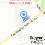 Автотехпомощь Спас на карте Санкт-Петербурга