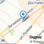 Мастерская Улыбок на карте Санкт-Петербурга