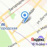 Лак/Мусс на карте Санкт-Петербурга