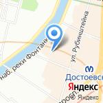 БЛКонс Групп на карте Санкт-Петербурга