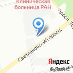 НАВСИ на карте Санкт-Петербурга