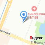 Гимназия №114 на карте Санкт-Петербурга