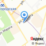 Играмир на карте Санкт-Петербурга