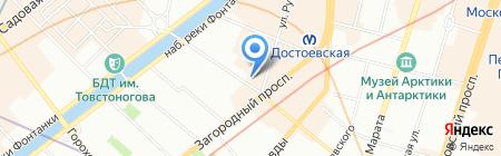 ИЗЪ ПЕЧИ на карте Санкт-Петербурга