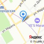 Хрусталь плюс на карте Санкт-Петербурга