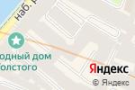 Схема проезда до компании БЛКонс Групп в Санкт-Петербурге