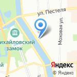 Гимназия №190 на карте Санкт-Петербурга