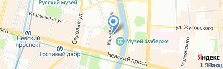 Кавказ-Бар на карте Санкт-Петербурга