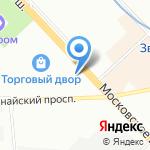 RockAir на карте Санкт-Петербурга