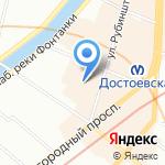 Емколбаски на карте Санкт-Петербурга