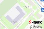 Схема проезда до компании Средняя общеобразовательная школа №519 в Санкт-Петербурге