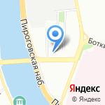 Феникс Юнайтед СПб на карте Санкт-Петербурга