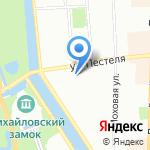 Нева-С на карте Санкт-Петербурга