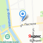 Cleanelly на карте Санкт-Петербурга