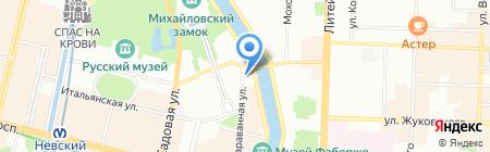 Хутор Водограй на карте Санкт-Петербурга