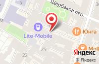 Схема проезда до компании Точка Роста в Санкт-Петербурге