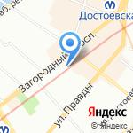 Otto на карте Санкт-Петербурга