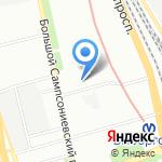 Фонд капитального ремонта кногоквартирных домов Санкт-Петербурга на карте Санкт-Петербурга