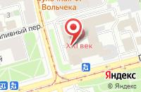 Схема проезда до компании Интер-Сити в Санкт-Петербурге