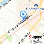 Sotaks на карте Санкт-Петербурга