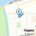 Кузнечикъ на карте Санкт-Петербурга