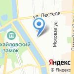 Utka на карте Санкт-Петербурга
