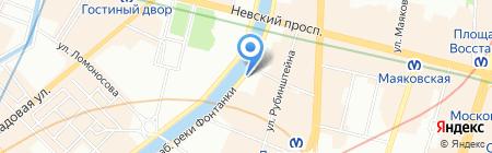 Мархаба на карте Санкт-Петербурга
