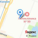 Средняя общеобразовательная школа №559 на карте Санкт-Петербурга